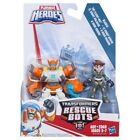 TRANSFORMERS PLAYSKOOL HEROES RESCUE BOTS 2 PACK ACTION FIGURES ASSORTMENT