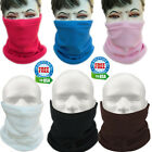 Fleece Neck Warmer Cold Weather Face Mask Snowboard Scarf Hat Unisex Thermal Ski