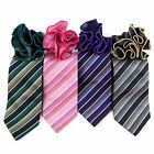 Men's Regency Stripes Tie and Matching Pocket Round  (MPWTH170628)