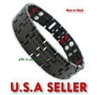 New-4-in-1-Bio-Bracelet-TITANIUM-Anion-Magnetic-Energy-Germanium-Power-Health