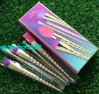 NEW TARTE MAGIC WANDS UNICORN MAKE UP BRUSH 5PCS SET CONCEALER EYE SHADOW GIFT