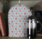 Cath Kidston Handmade Fabric Cafetiere Coffee Provence Rose Blue fabric