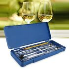 3Pcs Hydrometer Alcohol Meter Vinometer Tester With One Thermometer Gadget Set