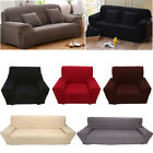 Elastic Spandex 1 2 3 4 Seater Furniture Cover Couch Slipcover Sofa Slipcovers
