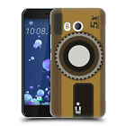 HEAD CASE DESIGNS CAMERA PATCHES HARD BACK CASE FOR HTC PHONES 1