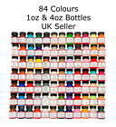 Angelus Acrylic Leather Paint for Sneakers, Shoes, Bags - 84 Colours - 1oz / 4oz