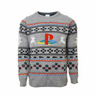 PlayStation Official Classic Console Buttons Symbols Christmas Jumper/Sweater