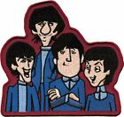 The Beatles Embroidered Iron On Patch - Apple Cartoon Close Up Glove Official
