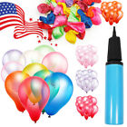 "Внешний вид - 100pcs 12"" Premium Latex Balloons Colorful Thickening Wedding Birthday Party USA"