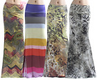 Women's LONG SKIRT Floral Striped Paisley High Waist Maxi S/M/L/XL1XL/2XL/3X