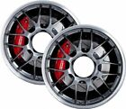 Wheelchair Spoke Guard Stickers Wheel Cover protector CHROME WHEEL EFFECT Design