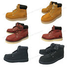 "Mens Moc Toe Boots 6"" Leather Water / Oil Resistant Insulate"
