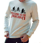 Welcome to the Upside Down Sweatshirt Stranger Things Jumper TV Mike 80s 776