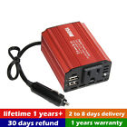 Digital 150W Car Power Inverter DC 12V to AC 220V Converter With 2 USB Ports WT