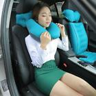 Inflatable U-Shape Neck Travel Pillow Headrest Airplanes Flight Rest Car Cushion