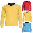 New Mens Star Trek Symbol Crest Uniform Top T-shirt L-XXL on eBay