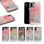 Christmas Gift Glitter Stars Dynamic Liquid Quicksand Case for iPhone5/6/7/X