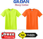 Gildan Heavy Cotton Safety High Vis Ansi T-Shirts Blank Solid Work Short T 5000 image