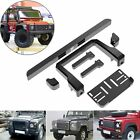 1:10 RC Metal Classic Style Front Bumper Full Set For TRAXXAS Trx-4 TRX4 Crawler