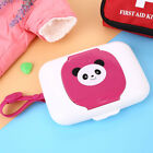 Baby Wet Wipes Case Cartoon Changing Dispenser Child Travel Cute Box Portable