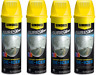Lot of 4 - Simoniz Sure Shine Instant Windshield De-Icer 15oz Thaws Wipers Locks