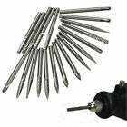 "1/8"" Tungsten Carbide Cylinder Cutter Burr Drill Rotary Metal Trimming Kit Tools"