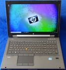 "HP EliteBook 8760w 17"" 2.6Ghz Intel i5 8GB 320gb Win10 gaming laptop CAD*Scratch"