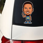 Steph Curry - Toon Golden State Warriors 7 inch Decal Qty Discounts Splash Bros on eBay