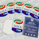Serie A 2017-18 toppa, sleeve patches, official Stilscreen patch