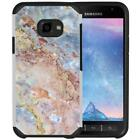 Marble Design Hybrid Case Protective Phone Cover for Samsung Galaxy Xcover 4