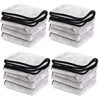 10/20/30/60 LARGE MICROFIBRE CLEANING CLOTHS CAR DETAILING POLISHING WASH TOWELS
