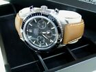 OT 22/18mm Outstanding Italian Genuine Bull Leather Band / Strap fit OMEGA watch