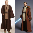 Star Wars Revenge of the Sith Obi Kenobi Wan COSplay Costume Halloween Jedi Suit $94.05 CAD