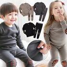 "Vaenait Baby Toddler Kids Girls Boys Clothes Sleep Pajama Set ""Mono Set"" 12M-7T"