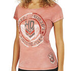 Harley-Davidson Women's Wing Chevron Burnout Short Sleeve Tee - R001337 $24.95 USD