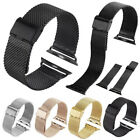 Stainless Steel Metal Watch Band Strap For Apple Watch Series 1 2 42mm /38mm image