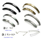 nov Titanium mudguard [fullset] for Brompton / Front & Rear / L or R type / Ti