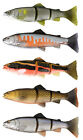 SAVAGE GEAR LINE THRU TROUT LURES - 15cm 6'' - 35g SLOW SINK - 2 COLOURS AVAILAB