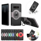 360° Swivel Ring Kickstand Shockproof Case For Galaxy S8S7 Edge Plus Note8J3J5J7