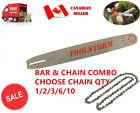 "NEW 20"" CHAINSAW BAR & CHAIN COMBO FOR STIHL  3/8"" 0.063"" 72DL SPROCKET NOSE"