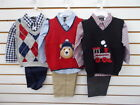 Infant Boys TFW 44 3pc Assorted Sweater Sets Size 3/6 Months - 24 Months