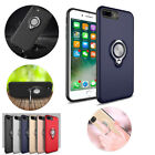 Heavy Duty Shockproof Ring Kickstand Case For iPhone X 8 7 6 6s Plus 5 5s SE