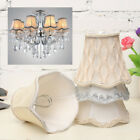 Vintage Small Lace Lamp Shades Textured Fabric Ceiling Chandelier Light Cover