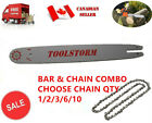 "NEW 14"" CHAINSAW BAR & CHAIN COMBO 3/8"" LOW PROFILE 0.050"" 50DL FOR STIHL"