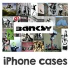 BANKSY ART poster GRAFFITi URBAN tattoo PAINT phone Cover CASE for iPhone 7 & 8