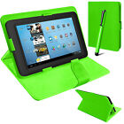 Universal PU Leather Folding Folio Tablet Case Cover For 9/10/10.1/ 9.7/9.6 Inch