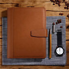 A5 Years Loose Leaf Schedule Notebook Ruled Diary PU Leather Calendar Organiser