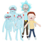 Rick and Morty Happy & Sad & Angry Mr. Meeseeks Plush Doll Figure Soft Stuffed