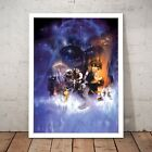 Star Wars Episode 5: The Empire Strikes Back Art Poster Print - A4 A3 Framed $44.95 AUD