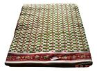 Cotton Voile Fabric Natural Crafting Hand Block Print fabric By the yard V-109